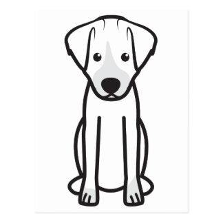 Dibujo animado del perro de Jack Russell Terrier Postales