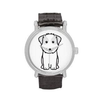 Dibujo animado del perro de Kyi-Leo Relojes