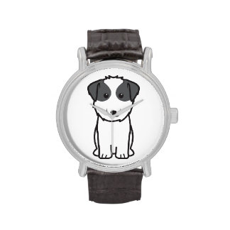 Dibujo animado del perro de Kyi-Leo Reloj De Mano