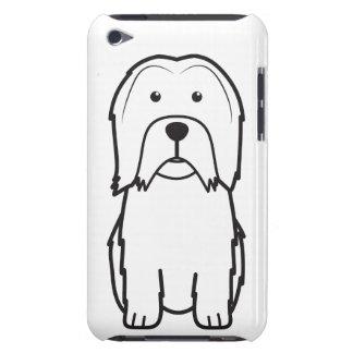 Dibujo animado del perro de Lowchen iPod Touch Case-Mate Cárcasas