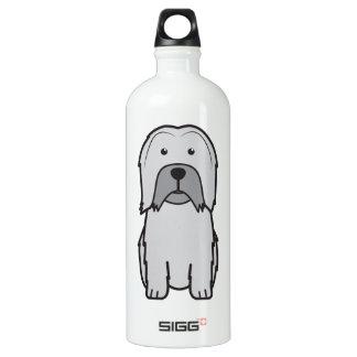 Dibujo animado del perro de Lowchen