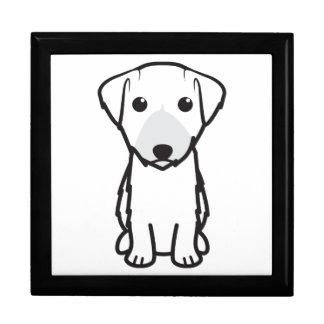 Dibujo animado del perro de Lucas Terrier Cajas De Recuerdo