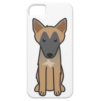 Dibujo animado del perro de Malinois del belga iPhone 5 Case-Mate Protectores