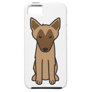 Dibujo animado del perro de Malinois del belga iPhone 5 Case-Mate Protector
