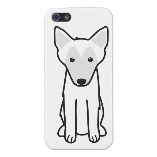 Dibujo animado del perro de Malinois del belga iPhone 5 Protectores