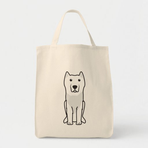 Dibujo animado del perro de Molossus del Aryan Bolsa De Mano