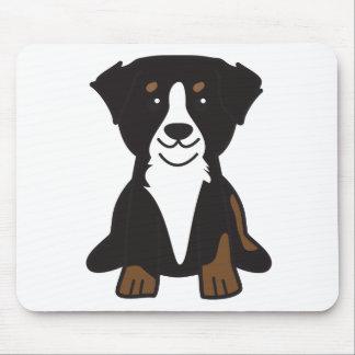 Dibujo animado del perro de montaña de Bernese Alfombrilla De Ratón