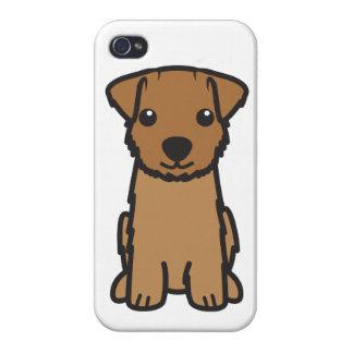 Dibujo animado del perro de Norfolk Terrier iPhone 4/4S Funda