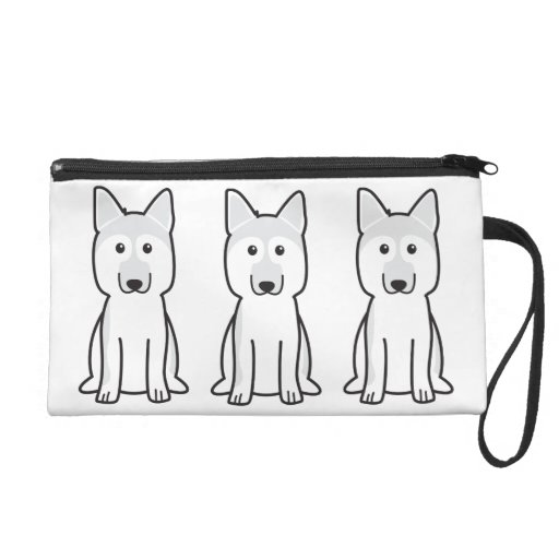 Dibujo animado del perro de pastor alemán