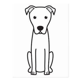 Dibujo animado del perro de pastor de Majorca Tarjetas Postales