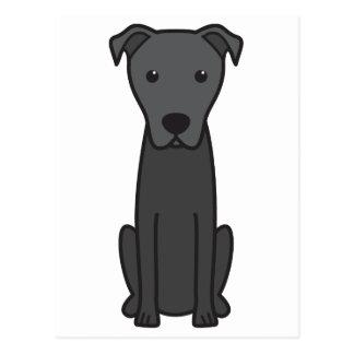 Dibujo animado del perro de pastor de Majorca Tarjeta Postal