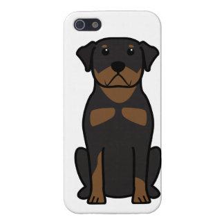 Dibujo animado del perro de Rottweiler iPhone 5 Carcasa