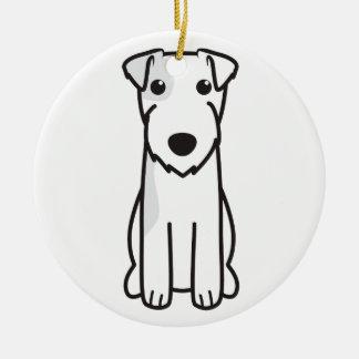 Dibujo animado del perro de Russell Terrier del Adorno Para Reyes