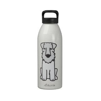 Dibujo animado del perro de Sealyham Terrier Botella De Agua