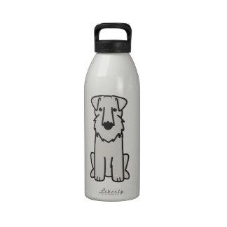 Dibujo animado del perro de Sealyham Terrier Botellas De Agua Reutilizables