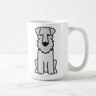 Dibujo animado del perro de Sealyham Terrier Taza De Café