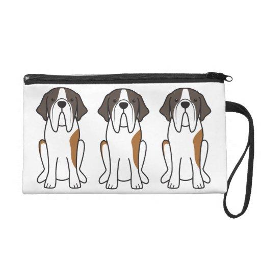 Dibujo animado del perro de St Bernard