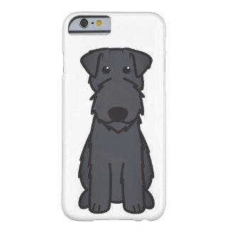 Dibujo animado del perro de Terrier de azul de Funda De iPhone 6 Barely There