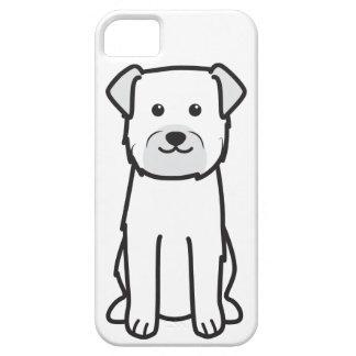 Dibujo animado del perro de Terrier de frontera iPhone 5 Cobertura