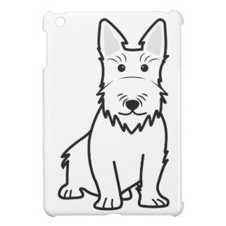 Dibujo animado del perro de Terrier del escocés