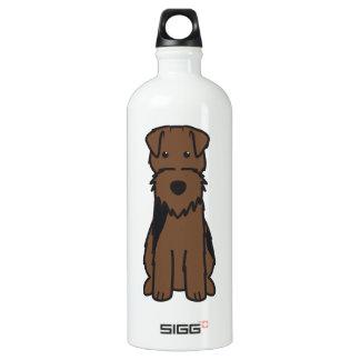 Dibujo animado del perro de Terrier galés