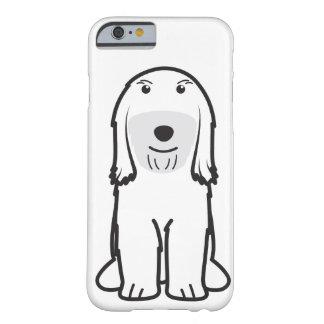 Dibujo animado del perro de Terrier tibetano Funda De iPhone 6 Barely There