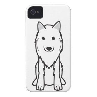 Dibujo animado del perro de Tervuren del belga iPhone 4 Carcasa