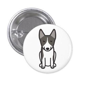 Dibujo animado del perro de Vallhund del sueco Pins