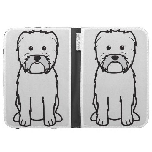 Dibujo animado del perro del Affenpinscher