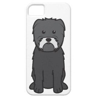 Dibujo animado del perro del Affenpinscher iPhone 5 Case-Mate Coberturas