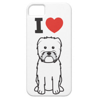 Dibujo animado del perro del Affenpinscher iPhone 5 Carcasa