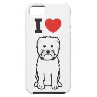 Dibujo animado del perro del Affenpinscher iPhone 5 Case-Mate Protectores