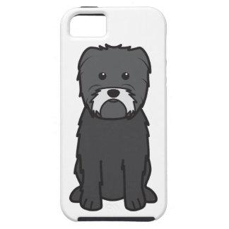 Dibujo animado del perro del Affenpinscher iPhone 5 Case-Mate Carcasa