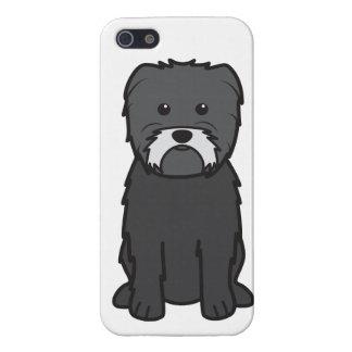 Dibujo animado del perro del Affenpinscher iPhone 5 Protector
