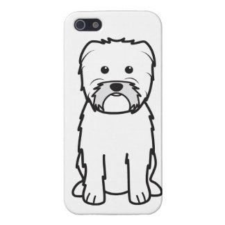 Dibujo animado del perro del Affenpinscher iPhone 5 Cárcasas