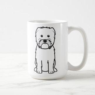 Dibujo animado del perro del Affenpinscher Taza Clásica