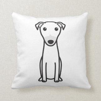 Dibujo animado del perro del canguro cojin