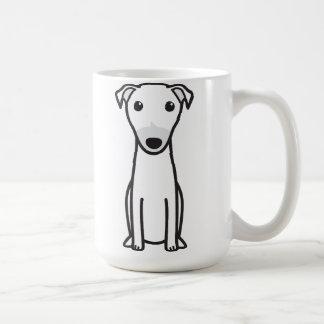 Dibujo animado del perro del canguro taza de café