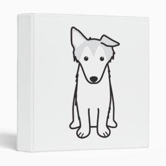 Dibujo animado del perro del collie