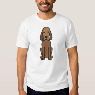 Dibujo animado del perro del Coonhound de Redbone Poleras