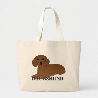 Dibujo animado del perro del Dachshund Bolsa