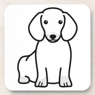 Dibujo animado del perro del Dachshund Posavasos De Bebida