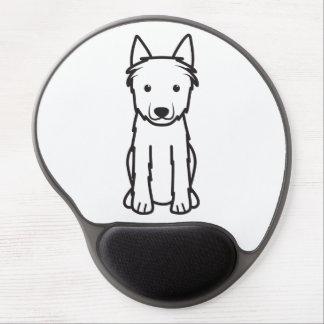 Dibujo animado del perro del DES Ardenas de Bouvie Alfombrillas De Ratón Con Gel