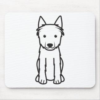Dibujo animado del perro del DES Ardenas de Bouvie Tapete De Raton