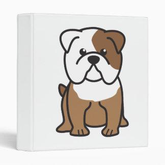 "Dibujo animado del perro del dogo carpeta 1"""