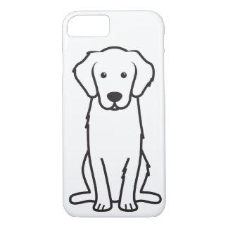Dibujo animado del perro del golden retriever funda iPhone 7