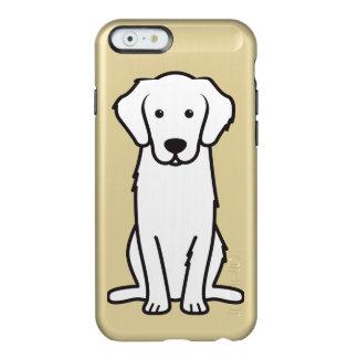 Dibujo animado del perro del golden retriever funda para iPhone 6 plus incipio feather shine