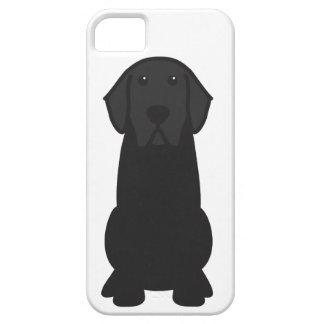 Dibujo animado del perro del labrador retriever iPhone 5 funda