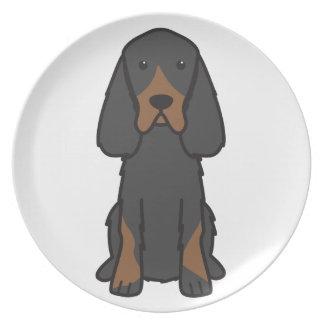 Dibujo animado del perro del organismo de Gordon Plato