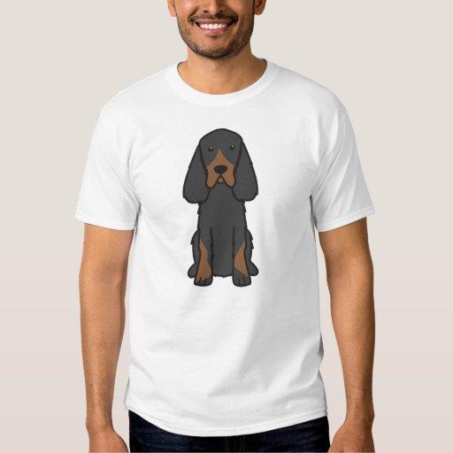 Dibujo animado del perro del organismo de Gordon Poleras